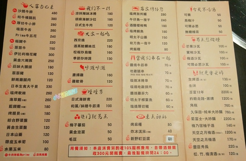 【板橋‧府中站美食‧邀約】新野町燒肉居酒屋6.jpg