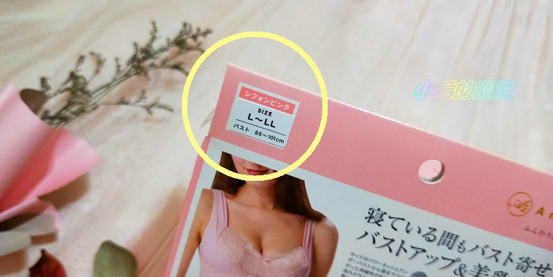 【試穿】日本Angellir Room Bra 夜間美胸3D內衣3