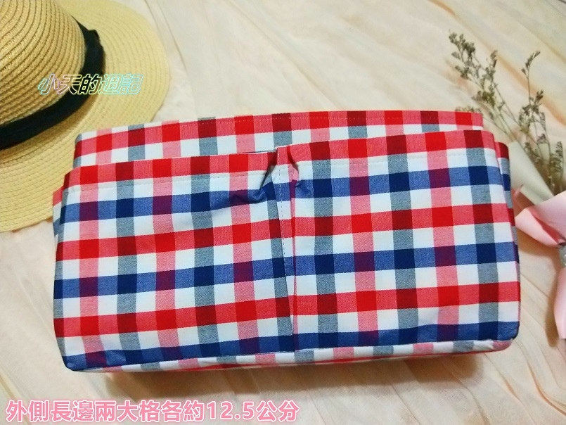 【試用】幸福工作室 純手工包包收納袋-平面拉鍊款袋中袋3.jpg