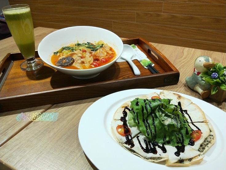 【台北信義安和美食】 NICE GREEn美蔬菜廚房台北精緻外食族健康飲食 酸湯豚肉麵 松露脆餅 蔬果汁12.jpg