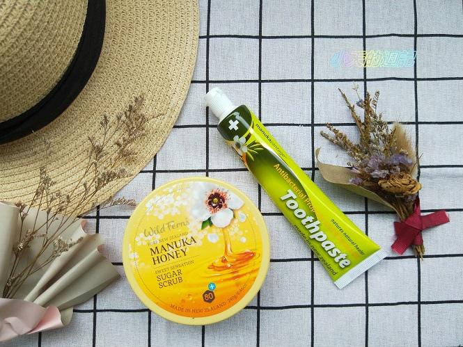 【試用】麥蘆卡蜂蜜磨砂膏&天然草本麥蘆卡茶樹精油蜂膠牙膏 來自紐西蘭的品牌Parrs14.jpg