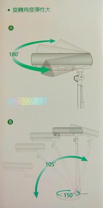 【試用】喜萬年SYLVANIA 第二代LED小小冰極光護眼檯燈 雙色切換版8.jpg