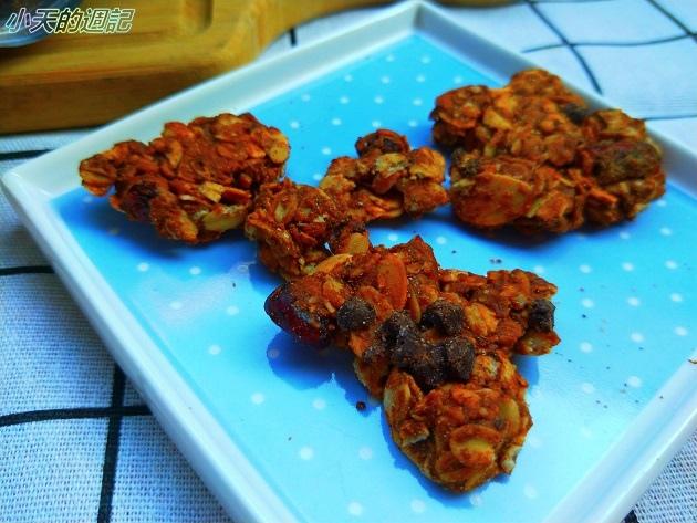 【試吃】The Chala蕎拉裸食燕麥脆片 巧克力口味 & Rivervird 江鳥咖啡9.jpg