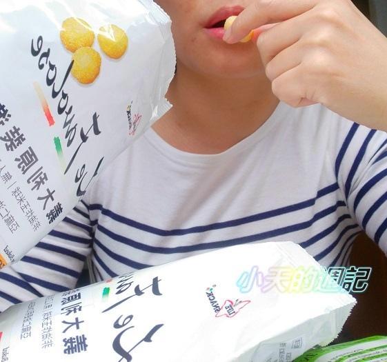 【零食推薦】喬山叔叔 義大利Life Snack 香焙玉米球13.jpg