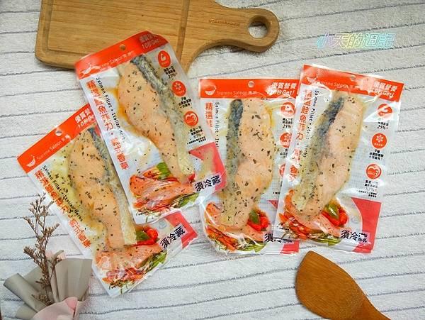 【美威鮭魚】義式香草魚排1