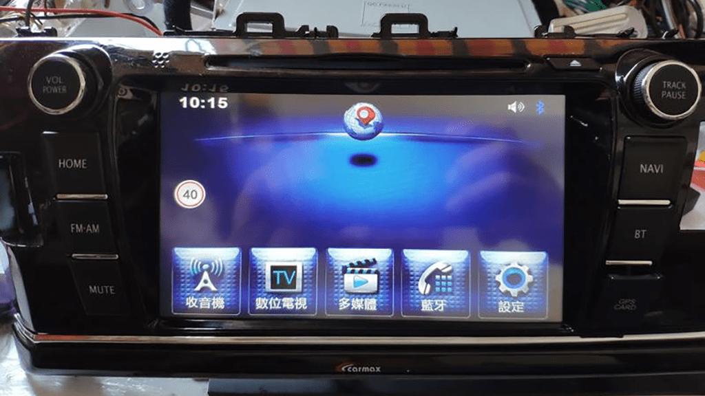攻城濕不說的秘密 - Altis2014原廠車X仕車用影音主機