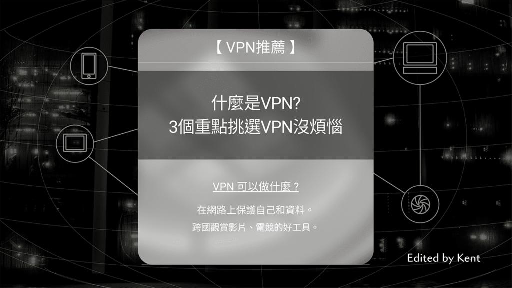 攻城濕不說的秘密 - 什麼是VPN? 3個重點挑選VPN沒煩惱