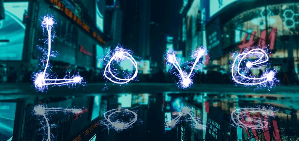 攻城濕不說的秘密 - hahow photoshop 課程作業 火花的光軌跡