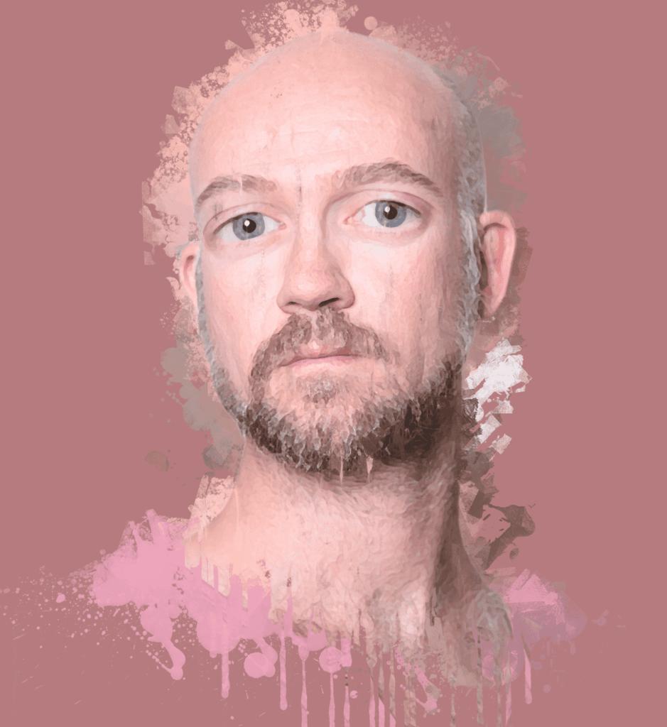 攻城濕不說的秘密 - hahow photoshop 課程作業 藝術畫效果