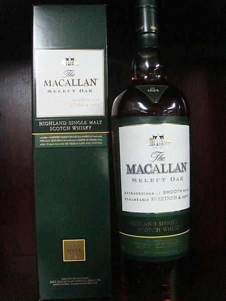 麥卡倫- 1824- (Select Oak)