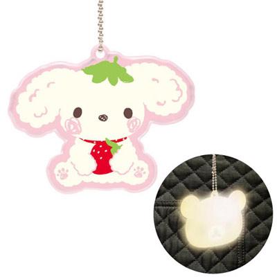 草莓犬反光掛飾.jpg
