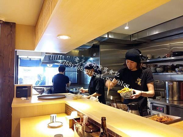 下町天丼秋光料理區-老三愛吃貨寫食記3.jpg