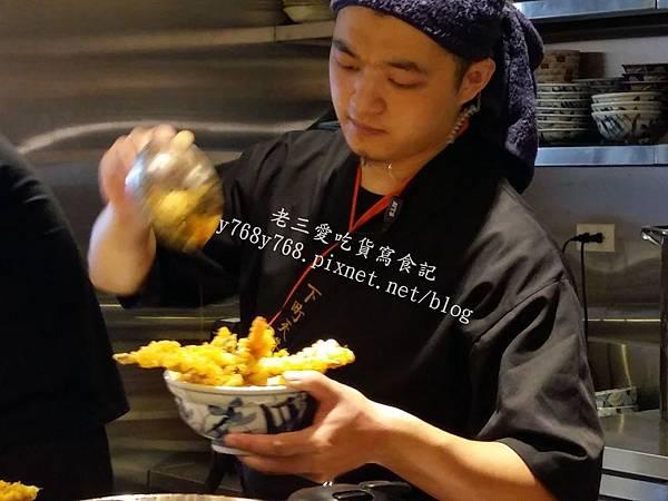下町天丼秋光醬汁-老三愛吃貨寫食記3.jpg