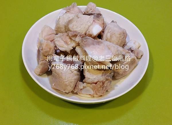 老三用電子鍋做料理-紅燒豬肉湯2.jpg