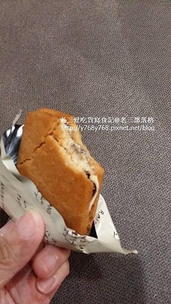老三愛吃貨寫食記-7-11萊姆葡萄夾心餅1.jpg