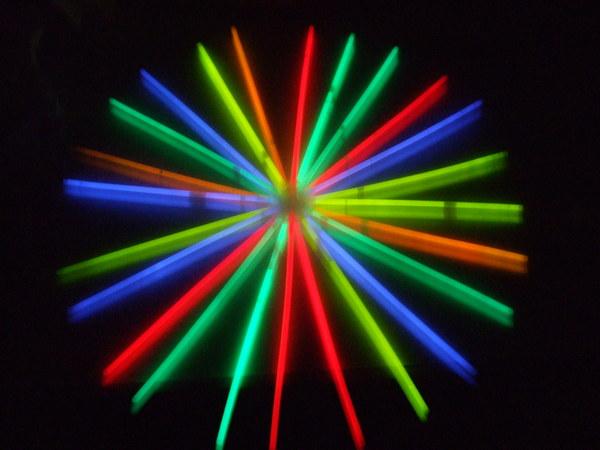 演唱會使用的螢光棒