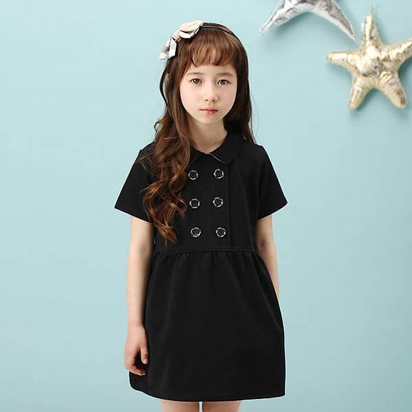 F0017氣質黑色洋裝   (IMG150)