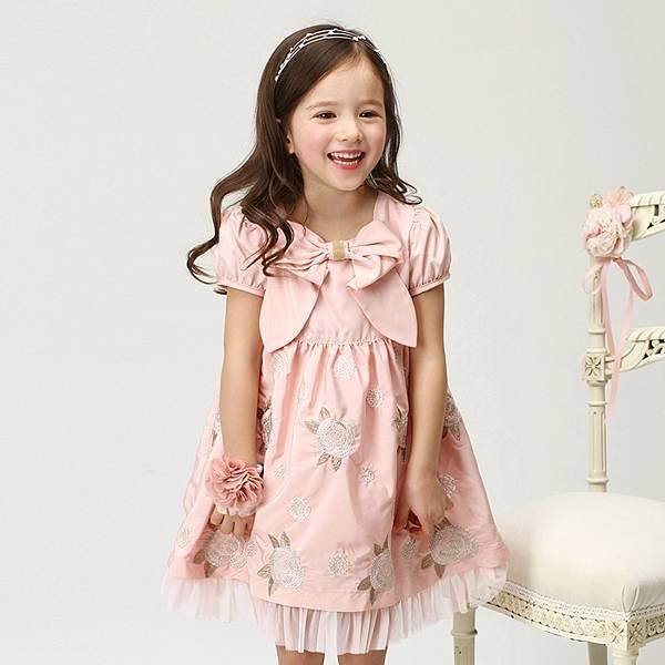 F0023 粉色洋裝  (IMG173)
