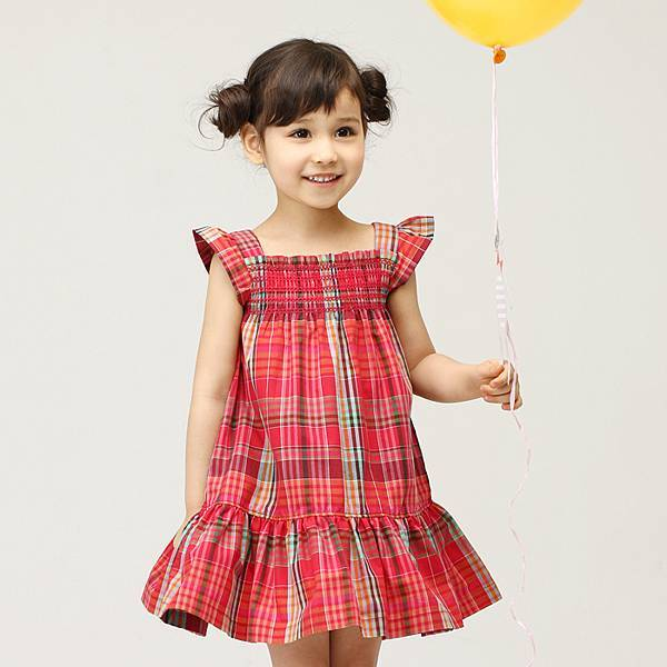 F0029 格紋洋裝  (IMG181)