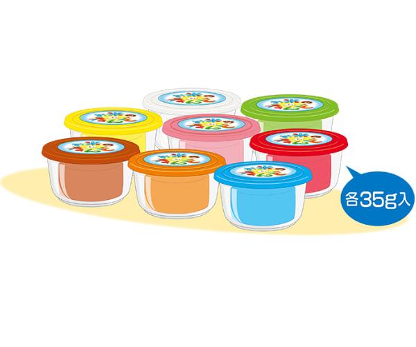 米黏土-8色商品照片3