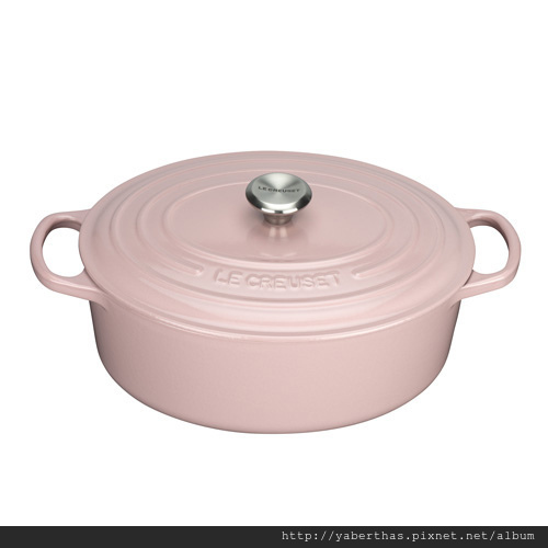 1-2粉紅橢圓鍋27cm
