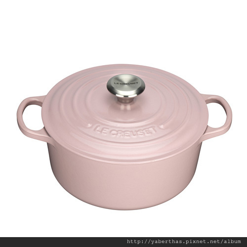 1粉紅圓鍋