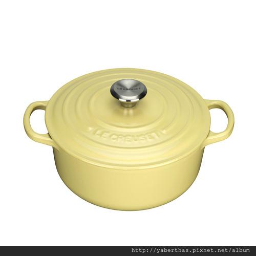 2黃色圓鍋