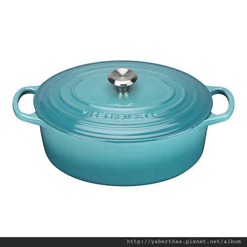3-2藍色橢圓鍋27cm