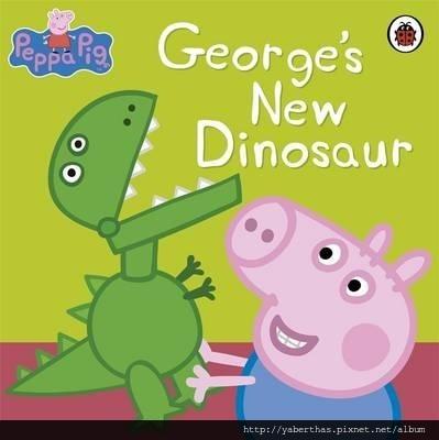 1 喬治的新恐龍 300元 31 x 20 x 0.3cm 24頁