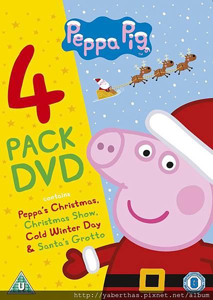10 佩佩豬的聖誕節, 聖誕秀,好冷的冬天,聖誕老公公的Grotto 840元