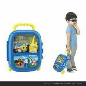 poli玩具行李箱2