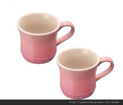J002馬克杯玫瑰粉3