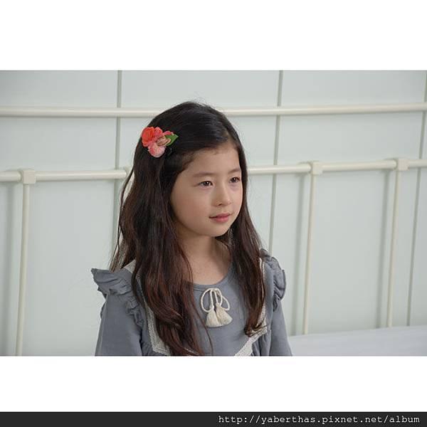 玫瑰花髮夾2
