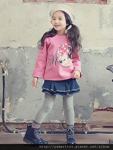 粉色米奇T恤
