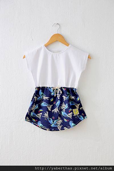 小觀鳥T恤連衣裙3