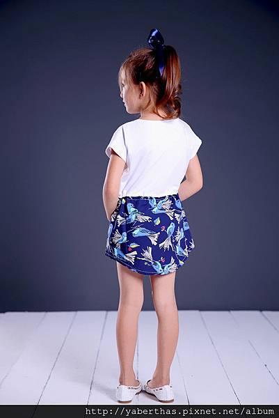 小觀鳥T恤連衣裙2