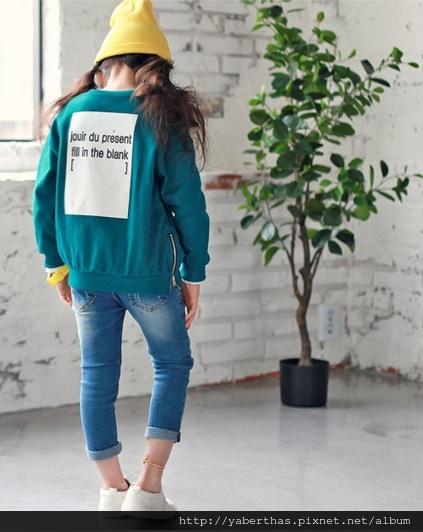 藍綠空白鍵上衣1