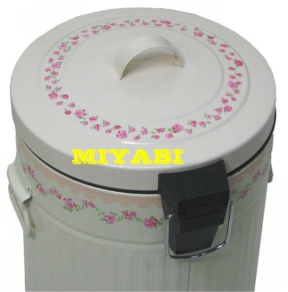 日本鄉村甜美優雅玫瑰垃圾桶2.jpg