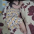 小妤的睡姿