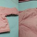 粉紅POLO外套