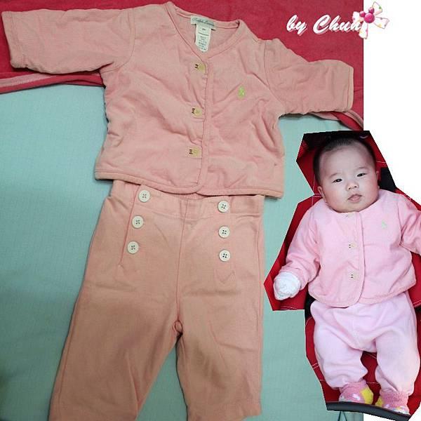 粉紅POLO套裝