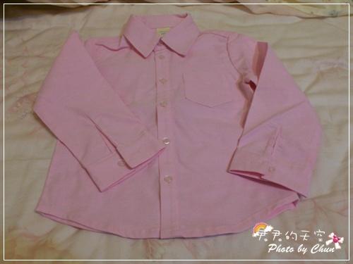 帥氣粉紅襯衫