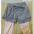 點點假二件短褲