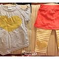 黃愛心套裝
