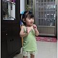 綠蕾絲細肩帶洋裝