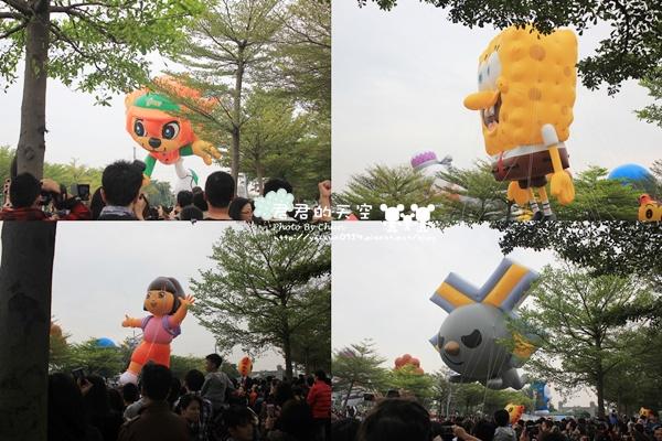 夢時代氣球遊行