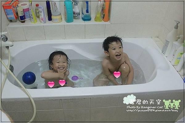初四:泡澡