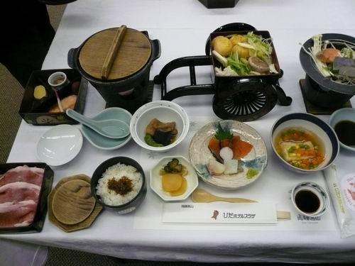 飯店內日式會席料理