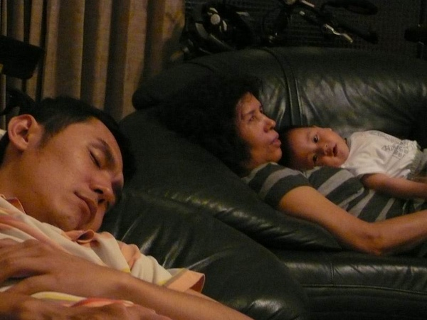 很累三人組