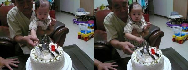 宥宥切蛋糕